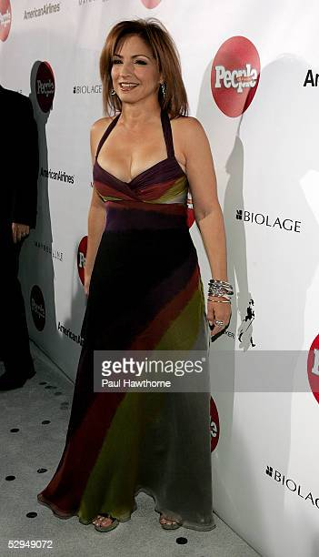 Singer Gloria Estefan attends People En Espanol's 4th Annual 50 Most Beautiful Gala at Capitale May 18 2005 in New York City