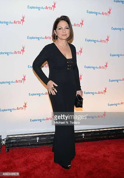 Singer Gloria Estefan attends the 8th Annual Exploring the Arts Gala at Cipriani 42nd Street on September 29 2014 in New York City