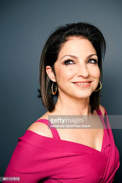 Singer Gloria Estefan is photographed for Paris Match on October 24 2013 in Paris France