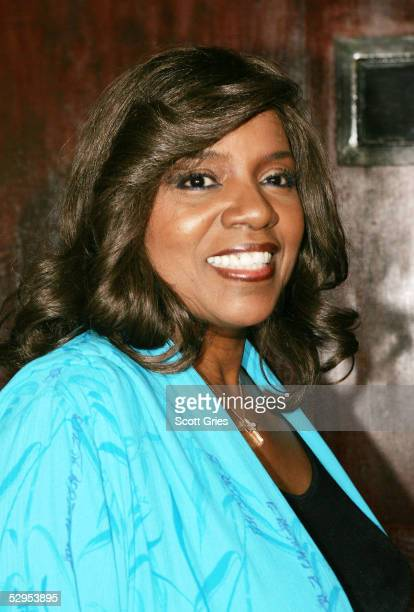 "Singer Gloria Gaynor arrives at ""The Young And The Restless"" pre-Emmy party at nightclub 17 May 19, 2005 in New York City."