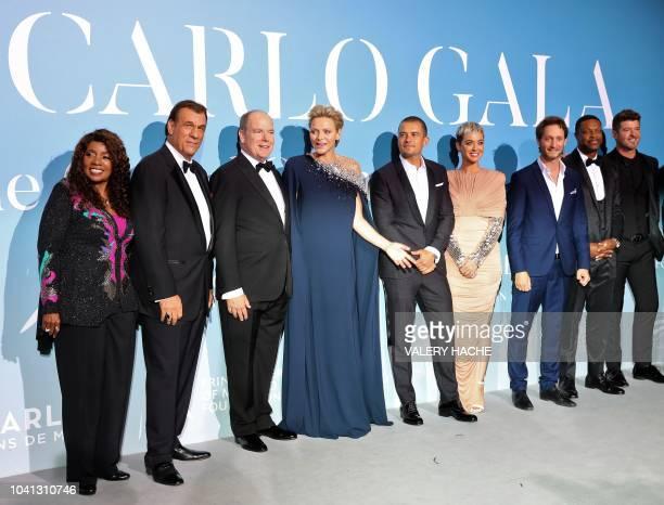 US singer Gloria Gaynor US actor Robert Davi Albert II of Monaco Charlene of Monaco British actor Orlando Bloom US singer Katy Perry Israeli...