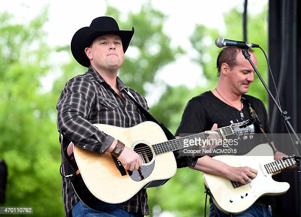 Singer Gord Bamford performs onstage during the ACM Party For A Cause Festival at Globe Life Park in Arlington on April 17 2015 in Arlington Texas