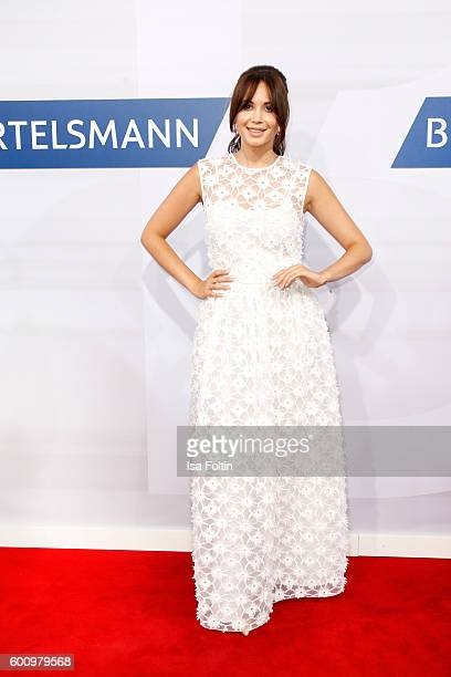 Singer Grace Capristo attends the Bertelsmann Summer Party at Bertelsmann Repraesentanz on September 8 2016 in Berlin Germany