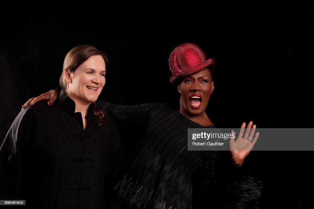 Grace Jones and Sophie Fiennes, Los Angeles Times, April 25, 2018
