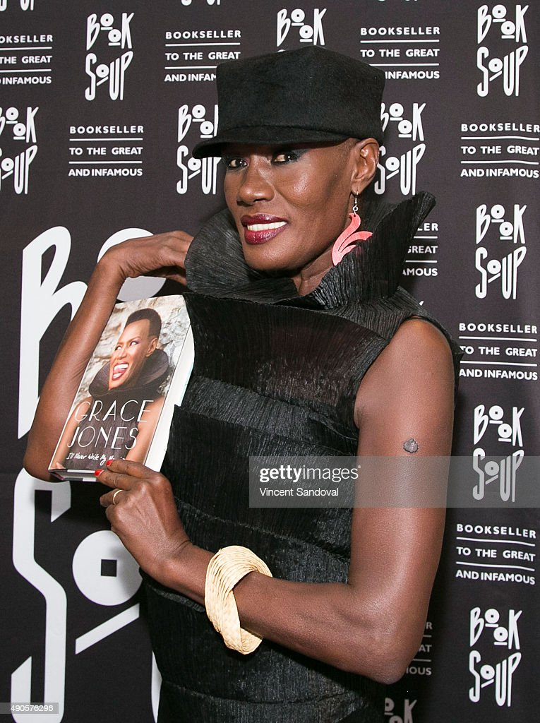 "Grace Jones Signs And Discusses Her New Book ""I'll Never Write My Memoirs"""