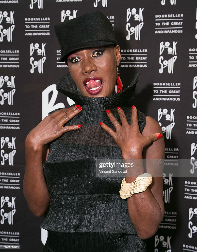 """Grace Jones Signs And Discusses Her New Book """"I'll Never Write My Memoirs"""""""