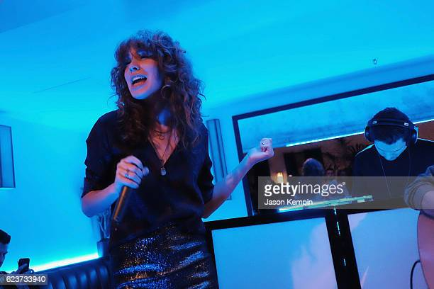 Singer Grace Mitchell performs during the Search Party NYC Premiere at Metrograph on November 16 2016 in New York City 26022_021