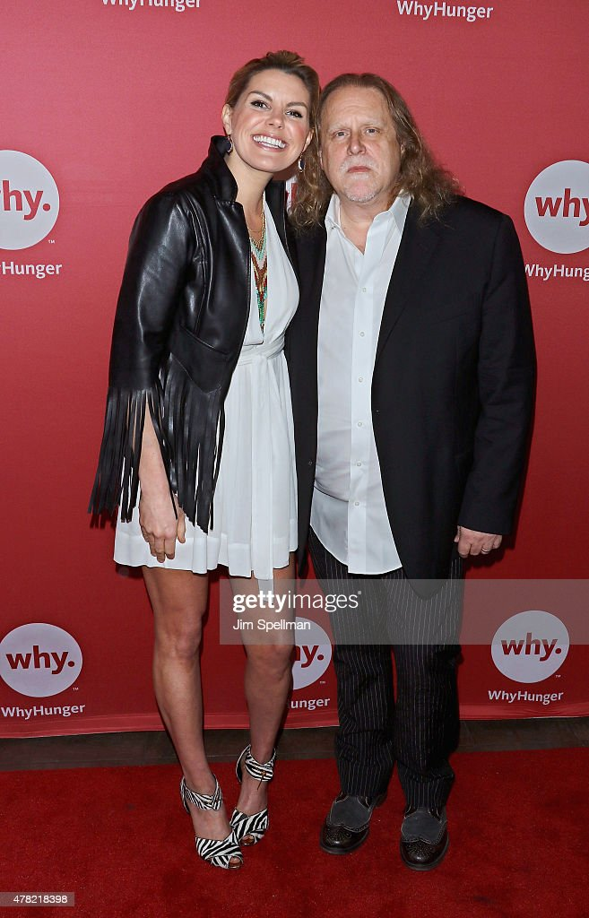 Singer Grace Potter and guitarist Warren Haynes attend the 2015 WhyHunger Chapin Awards Gala at The Lighthouse at Chelsea Piers on June 23, 2015 in New York City.