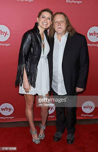 Singer Grace Potter and guitarist Warren Haynes attend the 2015 WhyHunger Chapin Awards Gala at The Lighthouse at Chelsea Piers on June 23 2015 in...