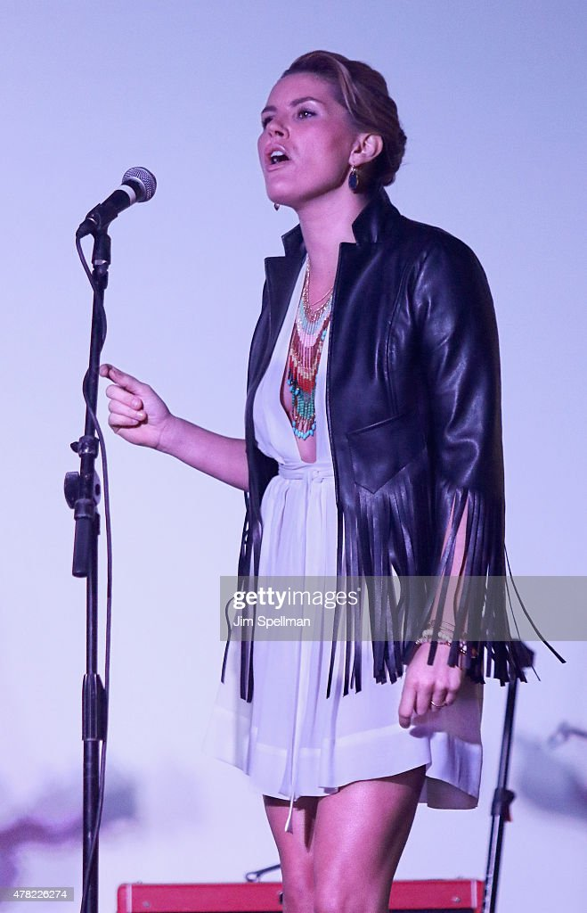 Singer Grace Potter attends the 2015 WhyHunger Chapin Awards Gala at The Lighthouse at Chelsea Piers on June 23, 2015 in New York City.