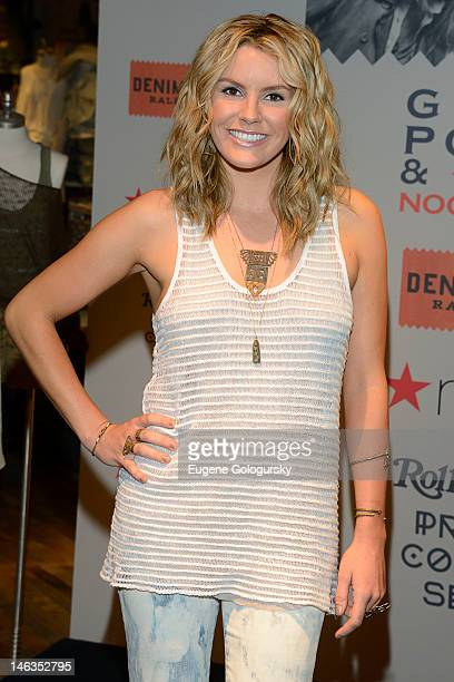 Singer Grace Potter visits Macy's Herald Square on June 14 2012 in New York City
