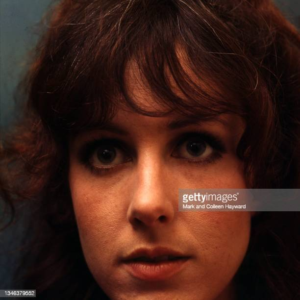 Singer Grace Slick of Jefferson Airplane after their first appearance in London at the Roundhouse, 6th September 1968.