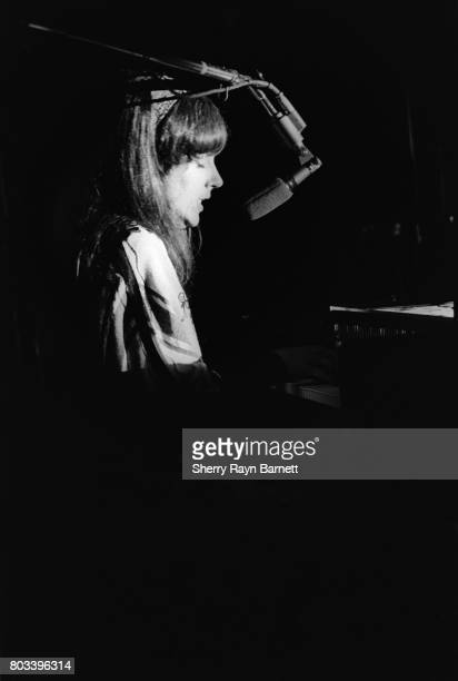 Singer Grace Slick of Jefferson Airplane performs onstage at the Monterey International Pop Festival on June 17 1967 in Monterey California
