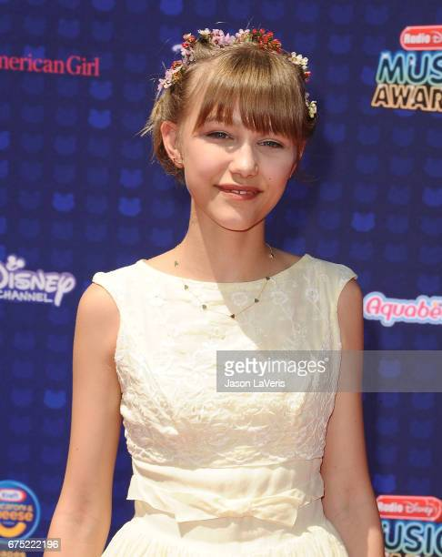 Singer Grace VanderWaal attends the 2017 Radio Disney Music Awards at Microsoft Theater on April 29 2017 in Los Angeles California