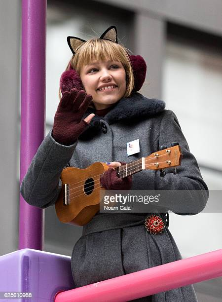 Singer Grace VanderWaal attends the 90th Annual Macy's Thanksgiving Day Parade on November 24 2016 in New York City
