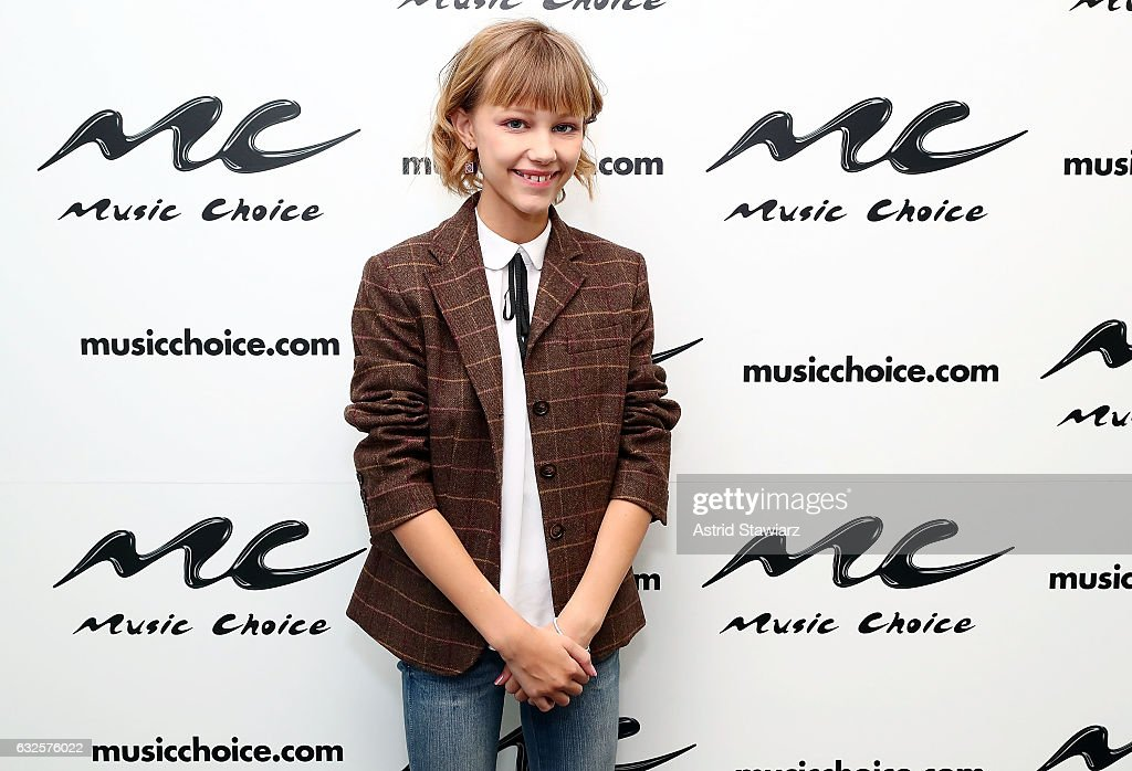 Grace VanderWaal Visits Music Choice