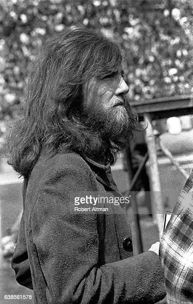 Singer Graham Nash attends an AntiWar Rally circa May 1972 in San Francisco California