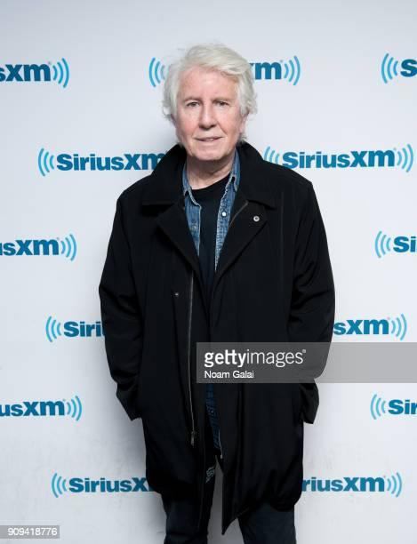 Singer Graham Nash visits the SiriusXM Studios on January 23 2018 in New York City