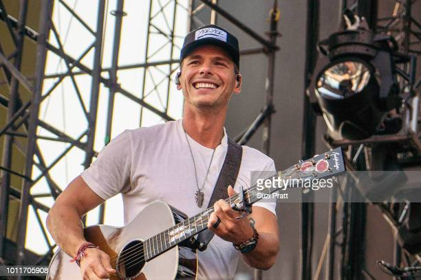 Singer Granger Smith performs at Watershed Festival at Gorge Amphitheatre on August 5 2018 in George Washington