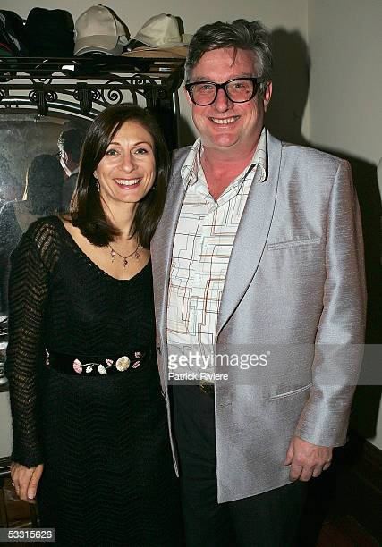 Singer Greedy Smith attends the launch of Debbie Kruger's last book Songwriters Speak at the home of Glen and Jo Shorrock on August 2 2005 in Sydney...