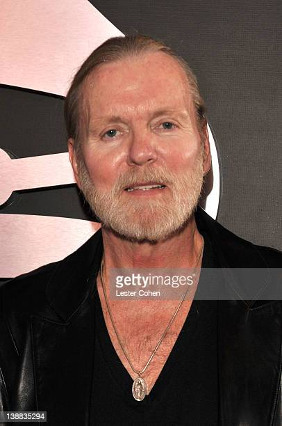 Singer Gregg Allman arrives at The 54th Annual GRAMMY Awards at Staples Center on February 12 2012 in Los Angeles California