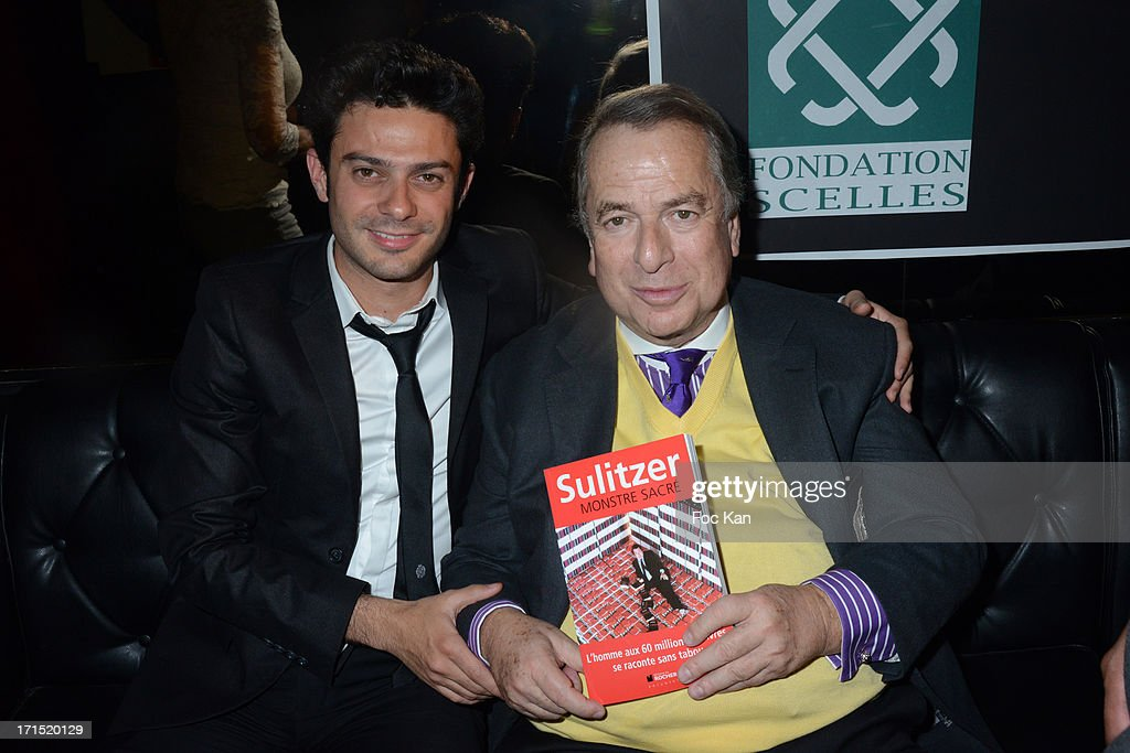 'Monstre Sacre L'Homme au 60 millions de Livres' Paul Loup Sulitzer Book Launch Cocktail
