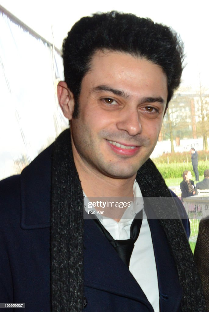 Singer Gregory Bakian attends the Launch of the new Paris Observatory Atmospheric Generali Balloon, at Parc Andre Citroen on April 18, 2013 in Paris, France.