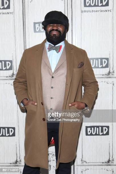 Singer Gregory Porter attends build Series to discuss his new album 'Nat 'King' Cole Me' at Build Studio on December 13 2017 in New York City