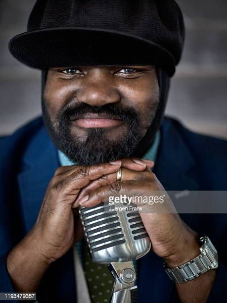 Singer Gregory Porter is photographed for Mercedes Benz Magazine on June 21 2016 at the Rainbow Room in New York City PUBLISHED IMAGE