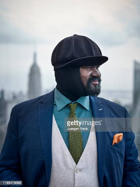 Singer Gregory Porter is photographed for Mercedes Benz Magazine on June 21 2016 at the Rainbow Room in New York City