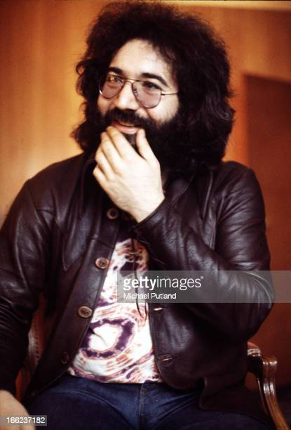 Singer guitarist and songwriter Jerry Garcia of American rock group the Grateful Dead London 1972