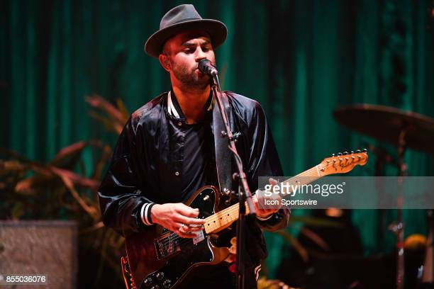 Singer / Guitarist Jonathan Russell of The Head and the Heart performs during the Signs of Light tour on September 26 2017 at Massey Hall in Toronto...