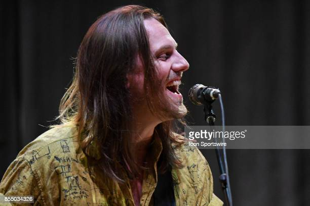 Singer / Guitarist Matt Gervais of The Head and the Heart performs during the Signs of Light tour on September 26 2017 at Massey Hall in Toronto ON...
