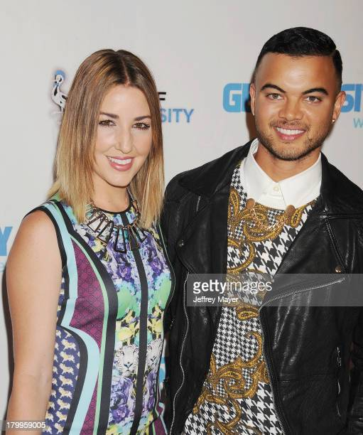 Singer Guy Sebastian and Jules Egan attend the Generosity Water's 5th annual night of Generosity benefit held at the Beverly Hills Hotel on September...