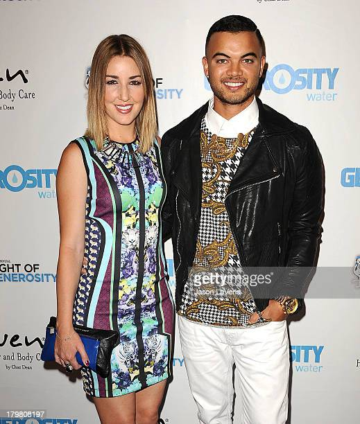 Singer Guy Sebastian and wife Jules Egan attend Generosity Water's 5th annual Night of Generosity benefit at Beverly Hills Hotel on September 6 2013...