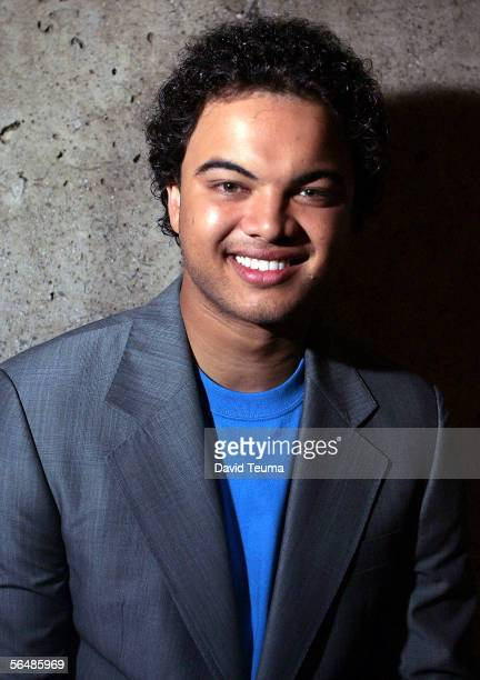 Singer Guy Sebastian poses after performing at the 2005 Carols by Candlelight on December 24 2005 in Melbourne Australia