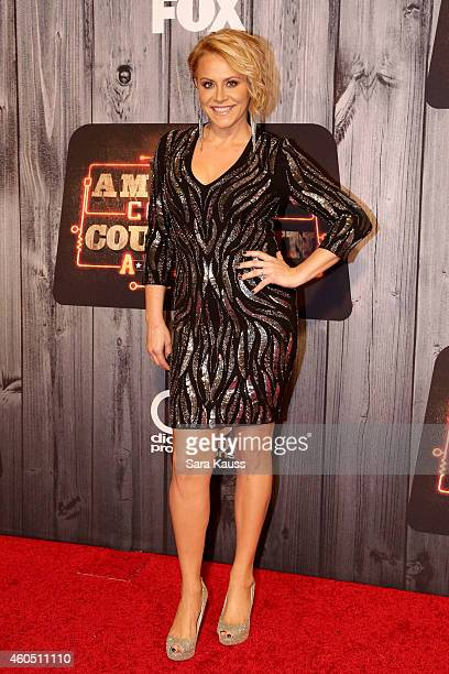 Singer Gwen Sebastian attends the 2014 American Country Countdown Awards at Music City Center on December 15 2014 in Nashville Tennessee