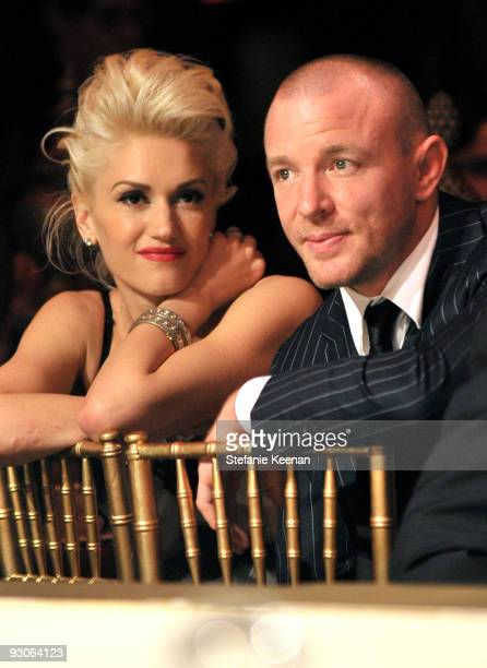 Singer Gwen Stefani and Director Guy Ritchie attends the MOCA NEW 30th anniversary gala held at MOCA on November 14 2009 in Los Angeles California