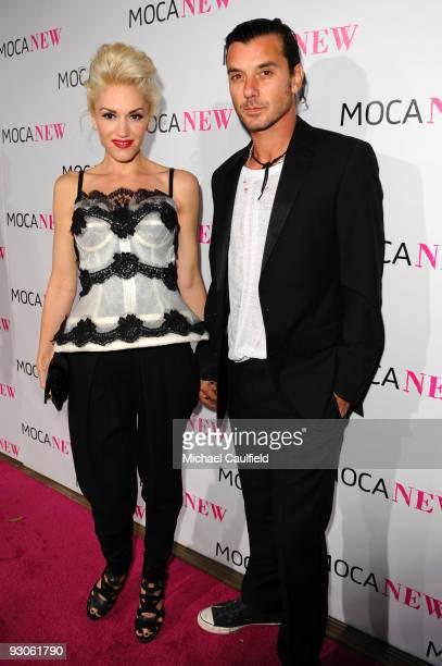 Singer Gwen Stefani and Gavin Rossdale arrive at the MOCA NEW 30th anniversary gala held at MOCA on November 14 2009 in Los Angeles California