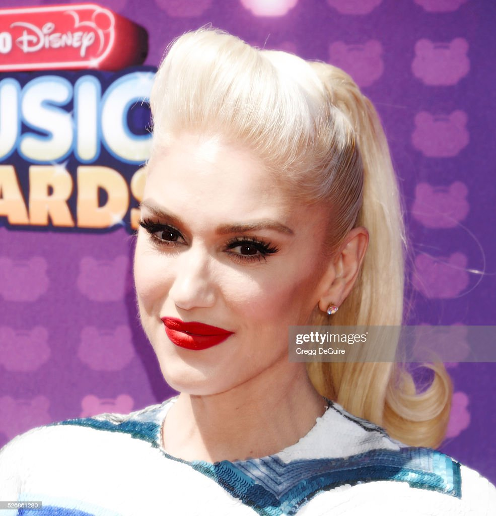 Singer Gwen Stefani arrives at the 2016 Radio Disney Music Awards at Microsoft Theater on April 30, 2016 in Los Angeles, California.