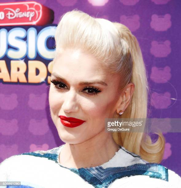 Singer Gwen Stefani arrives at the 2016 Radio Disney Music Awards at Microsoft Theater on April 30 2016 in Los Angeles California