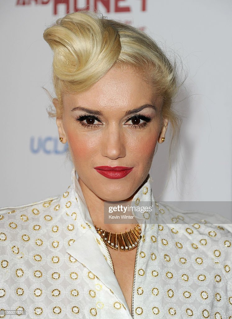 Singer Gwen Stefani arrives at the premiere of FilmDistrict's 'In the Land of Blood and Honey' held at ArcLight Cinemas on December 8, 2011 in Hollywood, California.