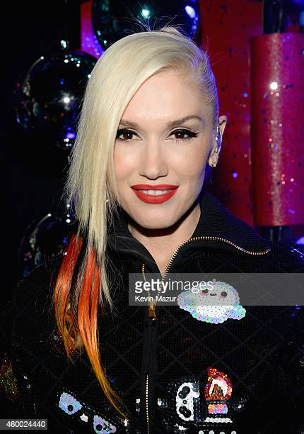 Singer Gwen Stefani attends KIIS FM's Jingle Ball 2014 powered by LINE at Staples Center on December 5 2014 in Los Angeles California