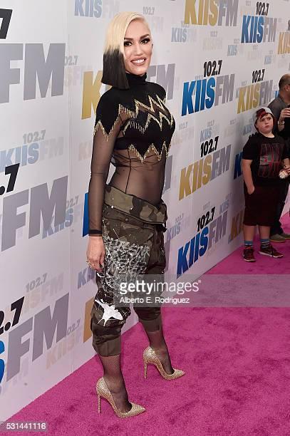 Singer Gwen Stefani attends KIIS FM's Wango Tango 2016 at StubHub Center on May 14 2016 in Carson California