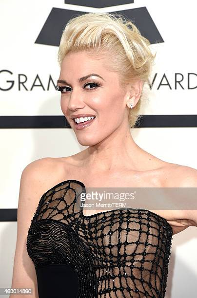 Singer Gwen Stefani attends The 57th Annual GRAMMY Awards at the STAPLES Center on February 8 2015 in Los Angeles California