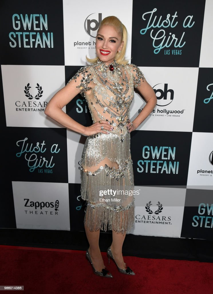 Grand Opening Of 'Gwen Stefani - Just A Girl' Residency At Planet Hollywood In Las Vegas : ニュース写真
