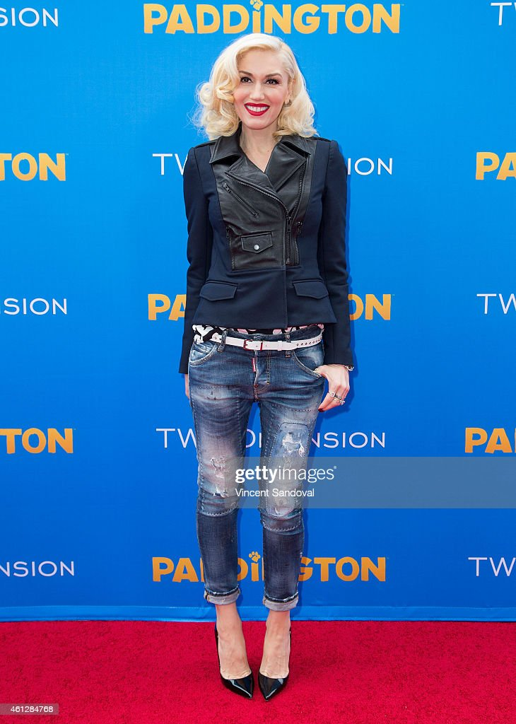 Singer Gwen Stefani attends the Los Angeles premiere of 'Paddington' at TCL Chinese Theatre IMAX on January 10, 2015 in Hollywood, California.
