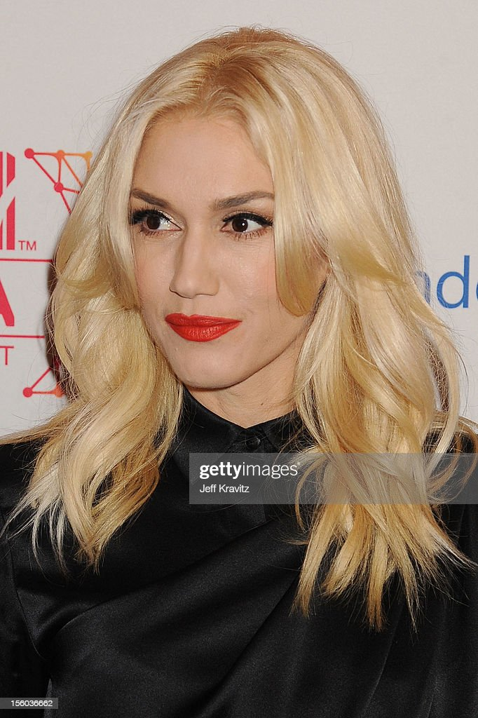 Singer Gwen Stefani attends the MTV EMA's 2012 at Festhalle Frankfurt on November 11, 2012 in Frankfurt am Main, Germany.