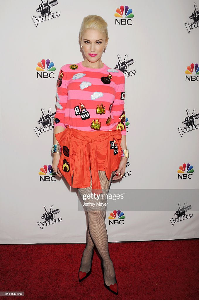 Singer Gwen Stefani attends the NBC's 'The Voice' Season 7 Red Carpet Event held at HYDE Sunset: Kitchen + Cocktails on December 8, 2014 in West Hollywood, California.