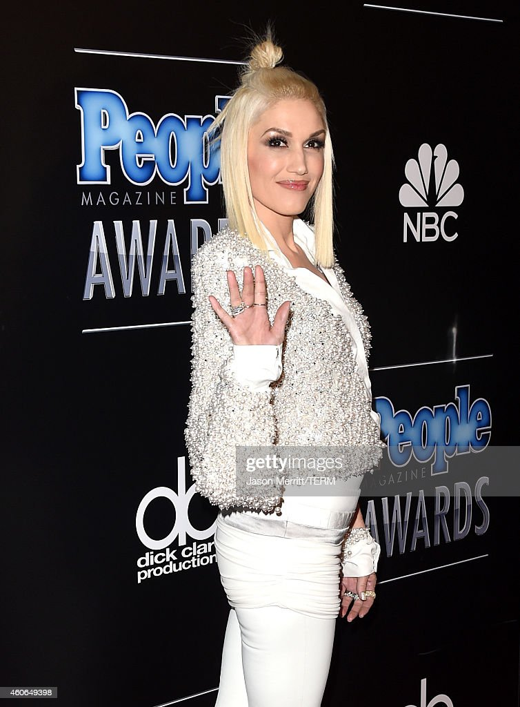 Singer Gwen Stefani attends the PEOPLE Magazine Awards at The Beverly Hilton Hotel on December 18, 2014 in Beverly Hills, California.